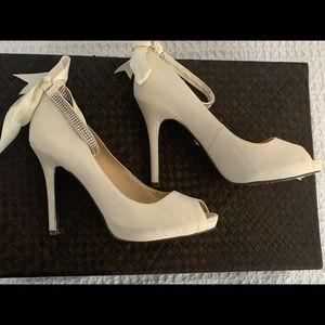 Satin heels - wedding